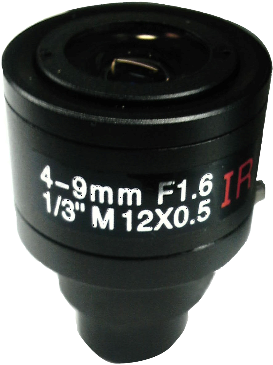 4-9mm Manual zoom F1.6 Straight Insert Single Trigger Lens