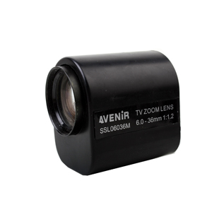 6-36mm Motor Zoom Lens Electrical Zoom Lens for CCTV Camera