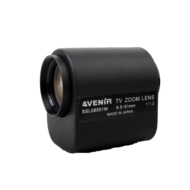8.5-51mm Motor Zoom Lens Electrical Zoom Lens for CCTV Camera
