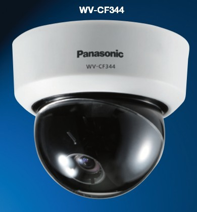 Panasonic WV-CF344 Fixed day/night dome camera with focus assist